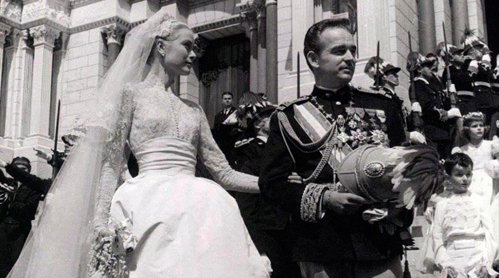Boda Grace Kelly y Raniero de Monaco