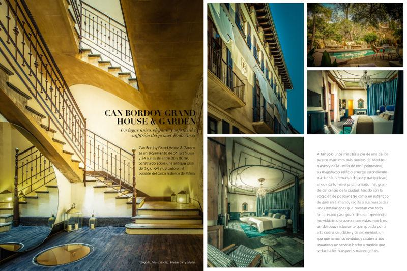 Revista Bodaviews #1 - Can Bordoy Grand House & Garden