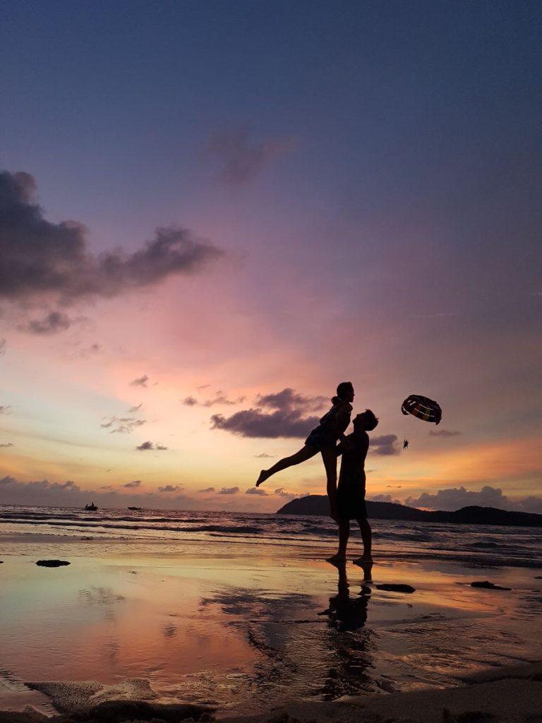 Pantai Tengah - Langkawi, Malasia