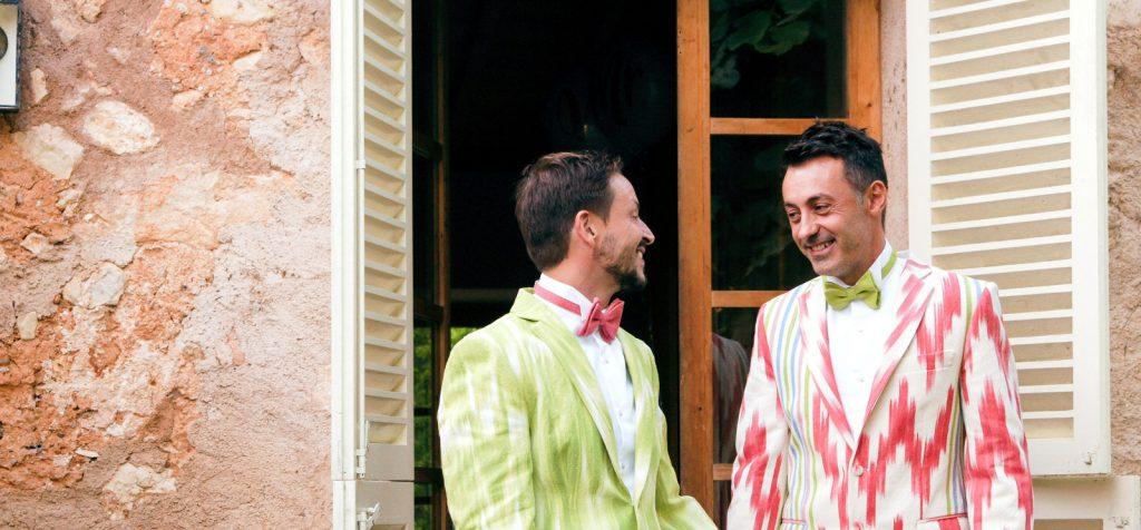 Manu y Fran. Una boda de lenguas